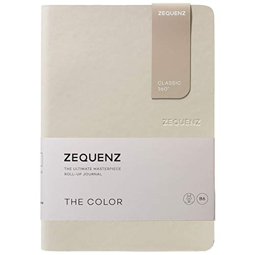 Zequenz Classic 360 The Color B6 Notebook, Dotted, Beige