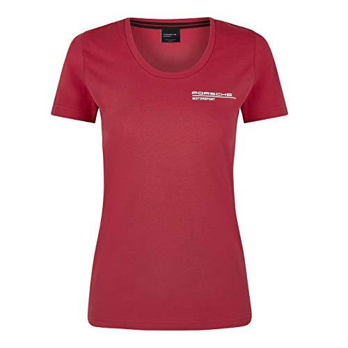 Porsche Motorsport Women's Red T-Shirt (L)