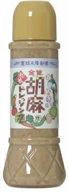 創健社『笛木醤油 金笛 胡麻ドレッシング』