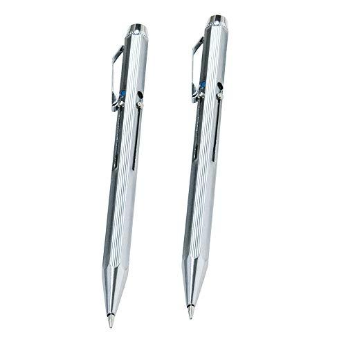 WEDO Vierfarb-Kugelschreiber mit Schiebemechanik (2er Pack Stifte)