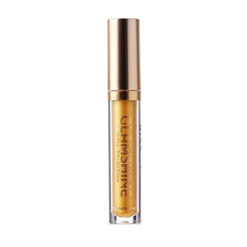 KISS Glam Shine Vita Lip Gloss (1 PACK, Gold Spot)