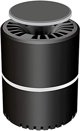XCTLZG Lámpara LED repelente de mosquitos USB de 5 V con luz nocturna UV, USB, linterna repelente de mosquitos, lámpara LED de luz nocturna, sin radiación, negro (color: blanco)