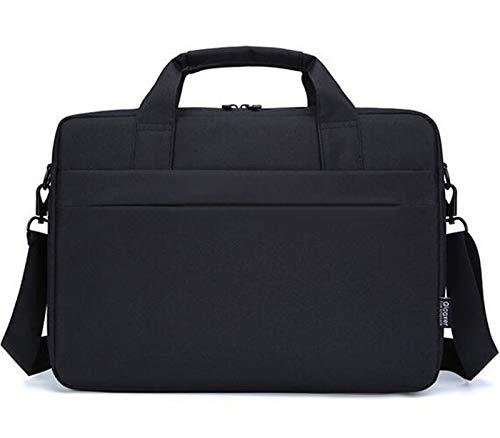 CAOODKDK Laptoptasche für Acer Aspire 5 / Acer Nitro 5 / Acer Predator Helios 300 / Asus ZenBook / VivoBook / Herren / Damen 15,6 Zoll Laptoptasche, schwarz (Schwarz) - 1882