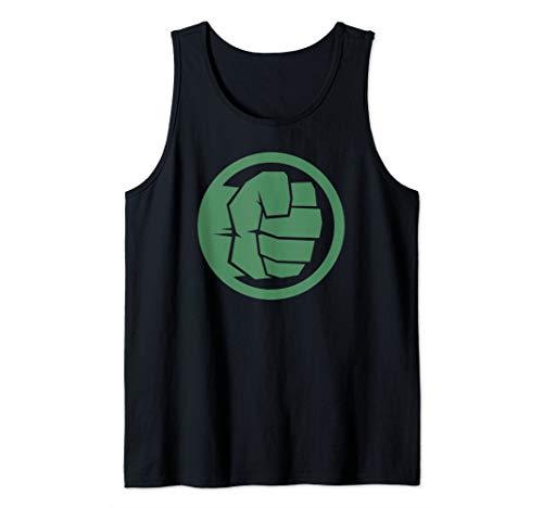 Marvel Hulk Fist Logo Stamp Tank Top