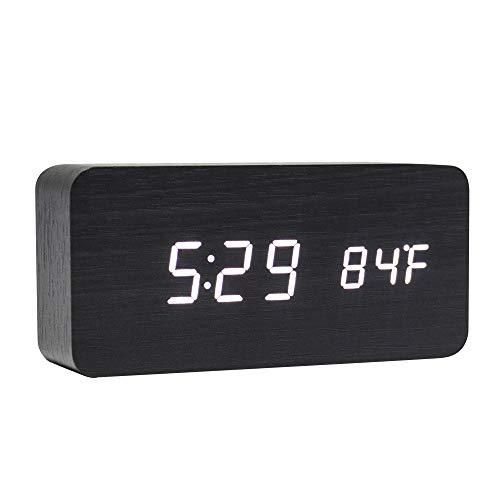 despertador digital madera fabricante Lanker