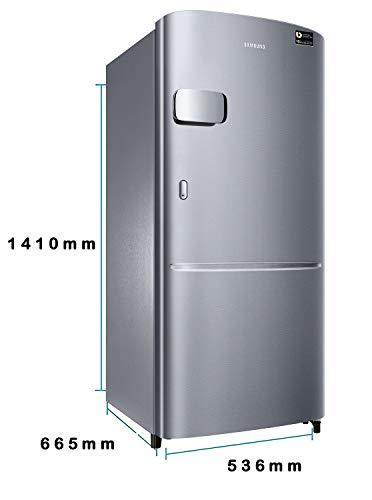 Samsung 230 L 3 Star Inverter Single Door Refrigerator (RR24A2Y2YS8/NL, Elegant Inox) 4