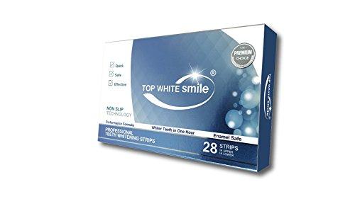 TOP WHITE SMILE PREMIUM CHOICE Blanchiment des dents blanchissant Strips