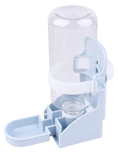 Botella de agua Nobrand de 500 ml, alimentador automático para mascotas, dispensador de agua para animales pequeños, hámster, cobaya, conejo, gatos