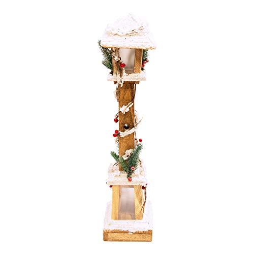The Christmas Workshop Lamp Post, LED Bianco Caldo, Larghezza 60 Cm Di Altezza X Profondità 13 Cm