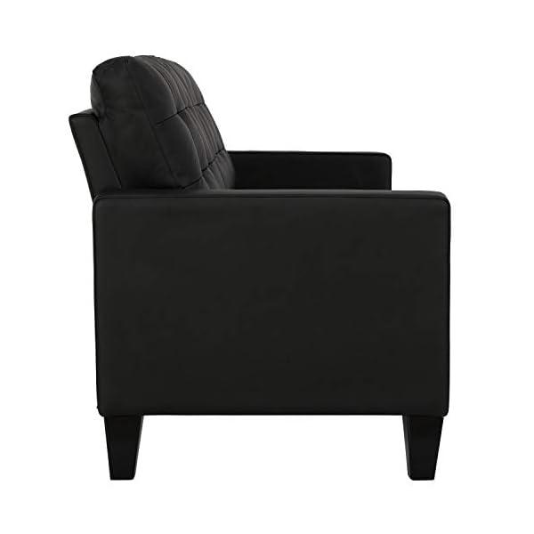 Dorel Living Emily Upholstered Sofa Couch 3