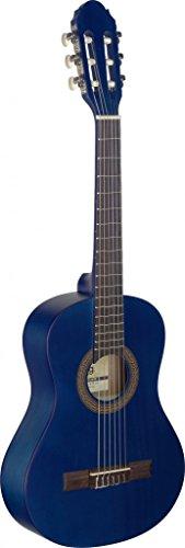 Stagg C4101/2Größe Name Klassische Gitarre–Schwarz 1/2 blau