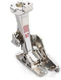 """Sew-link #57N - 1/4"""" Foot w/Guide for Bernina New Style"""