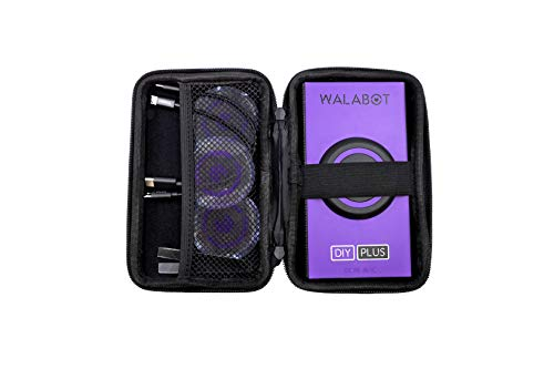 Official Walabot DIY Plus Protective Case & Accessory Kit, Black