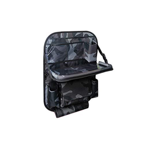 Sac de Rangement pour siège de Voiture Sac Suspendu arrière Fournitures pour Voiture Table Pliante Sac de Rangement pour Dossier de siège arrière Multifonction (Color : G)