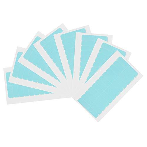 PROGARMENTS 96 Stück Ersatztapes Klebestreifen, Haarverlängerung klebeband Ersatz Tapes für Haarverlängerungen Haareinschlag Lang oder Kurz-Haar