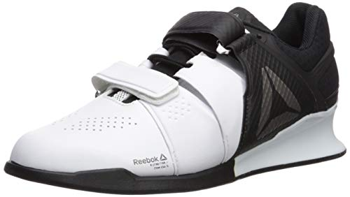 Reebok Men's Legacylifter Cross Trainer,white/black/pewter,12.5 M US