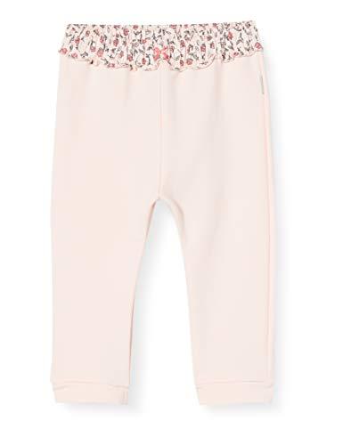 Sanetta Baby-Mädchen Light Peach Hose, rosa, 080