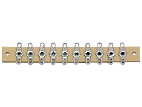 modellbahn-exklusiv Lötleiste Länge 72mm 10-polig