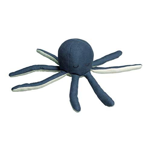 Fabelab Rassel Octopus aus Bio-Baumwolle