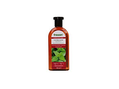Tresan, Shampoo mit Brennnessel Extrakten 500 ml, für normales und trockenes Haar