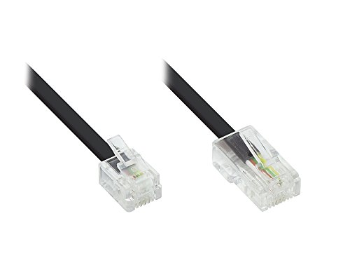 DSL Modem Kabel RJ11 / RJ45 Länge: 3m, Good Connections®