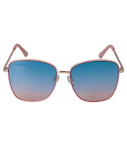SIX Sonnenbrille für Damen im Piloten-Design, Linsen-Kategorie 2, UV400 Filter (326-211)