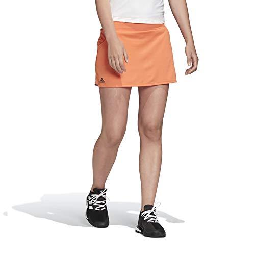 adidas Women's Club Skirt Amber Tint/Gray X-Large