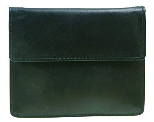 STEFANO leren borsttas schoudertas portemonnee super platte beveiliging portemonnee