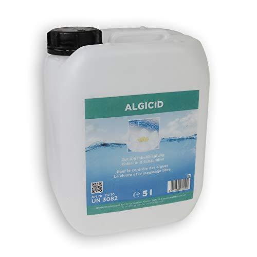 Paradies Pool GmbH Seerose Algizid 5l Algicid Konzentrat Algenschutzmittel chlor- und schaumfrei