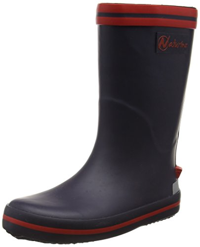 Naturino Unisex-Kinder RAIN Boot. Gummistiefel, Blau (Gomma BLEU-Rosso), 32 EU