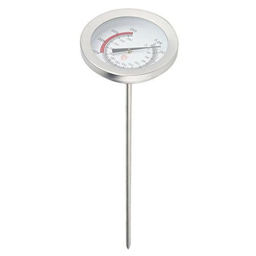 Fornateu Frittieröl Fryer Fries Fried Chicken Wings BBQ Grill Ölthermometer Öl Thermometer Edelstahl