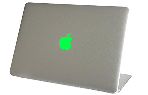 NEON Fluorescent Green Macbook Air Logo Color Changer Vinyl Sticker Decal Mac Laptop