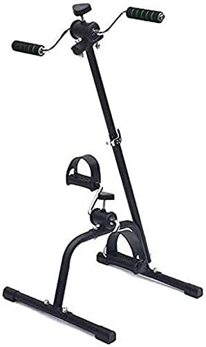 NBLD Máquina para Caminar sentada, Bicicleta estática portátil y Resistente