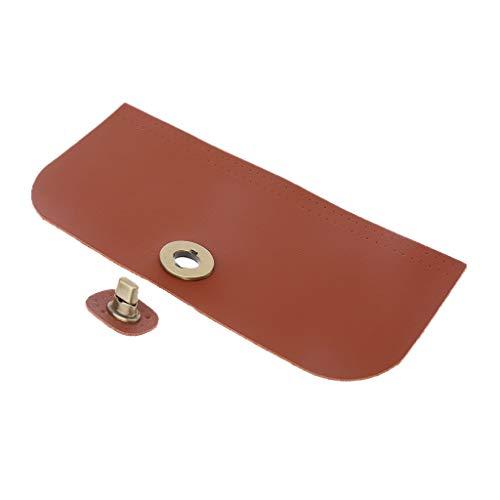 VICCOO vervangende afdekking voor de lederen rand voor de handtas, schoudertas, accessoires om zelf te maken - rood 2