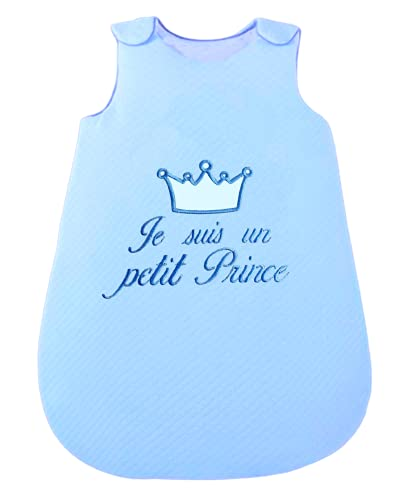 NOSBEBES ® Gigoteuse pour bébé, Fabriqué en EUROPE, pour nouveau-né, brodé, 100% COTON, pour lit bébé, pour siège auto, pour poussette, Nid d'ange, idée...