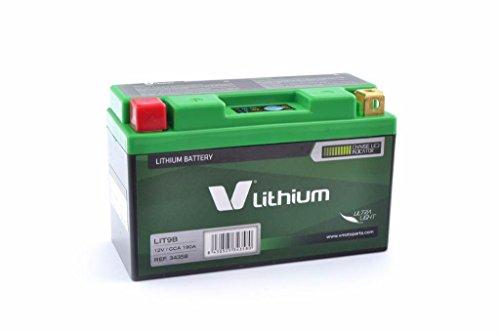 V LITHIUM - 34358 : Bateria De Litio V Lithium Lit9B (Con Indicador De Carga)