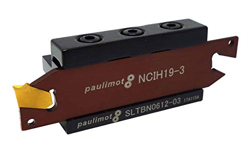 PAULIMOT Abstechstahl mit Schneidplatte Schaft 6 mm