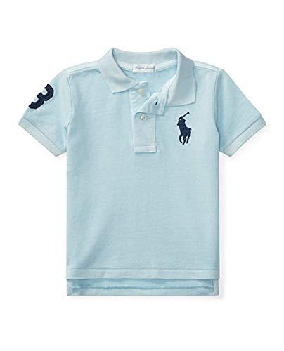 Polo pour bébé garçon Big Pony Ralph Laauren authentique - Bleu - 9 mois