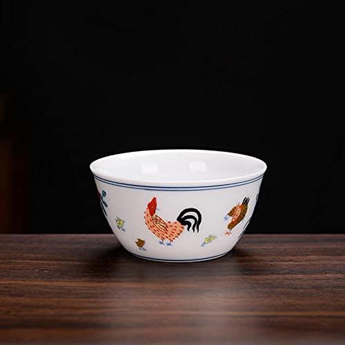 Ksnrang Suministros de té Ming en el Cultivo de la Taza de Cilindro Colorida Pequeño Producto Taza de té Copa de Vino Pequeño Regalo Logotipo Personalizado-Trompeta - Copa