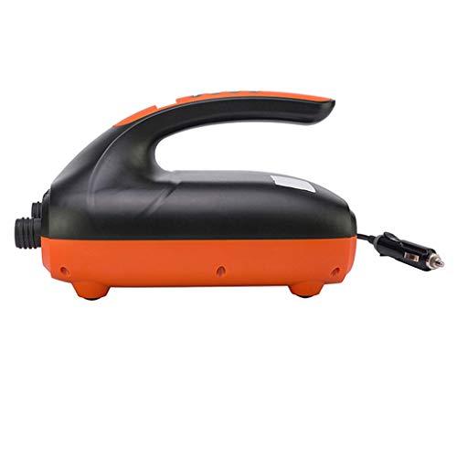Compresor de bomba de aire de 12 V máx. 20 PSI, pantalla LCD, bomba de aire eléctrica para inflar tablas de remo, barcos, balsas, juguetes de piscina