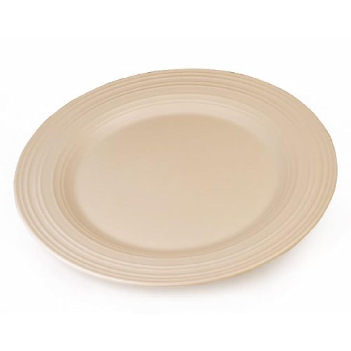 Mikasa Swirl Tan Platter 12