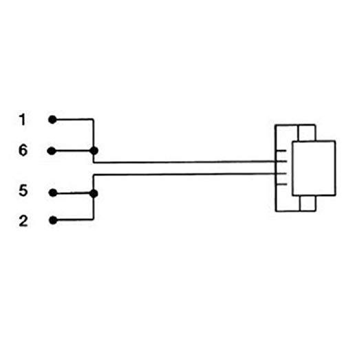 Hama Anschlusskabel, TAE-N-Stecker - Modular-Stecker 6p2c, 10 m