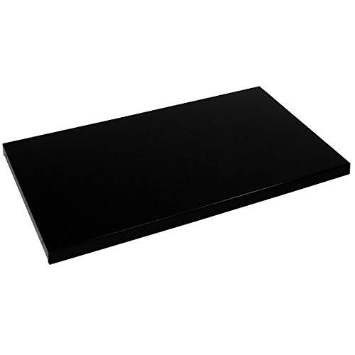Mauser Tablette - pour l x p armoire 1600 x 420 mm, lot de 2 - noir - accessoires armoire à portes coulissantes armoires à portes coulissantes tablette tablette supplémentaire tablettes Accessoire