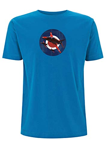 Flechas rojas Remache Roundel Target T Shirt MOD Plane RAF Air Show...