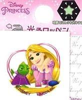 ◇ キャラクター ディズニー 光るワッペン ディズニー プリンセス ラプンツェル( サイズ 約2.5×2.5cm 1枚入り)( アップリケ アイロン 接着 ハンドメイド おしゃれ 大人 子供 こども ピロル)