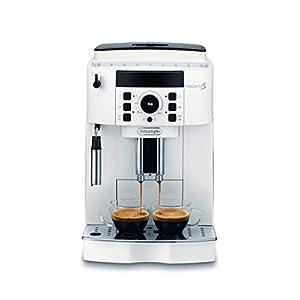 De'Longhi ECAM 21.110.W Cafetera automática, 1450 W, 1.8 litros, plástico, Blanco