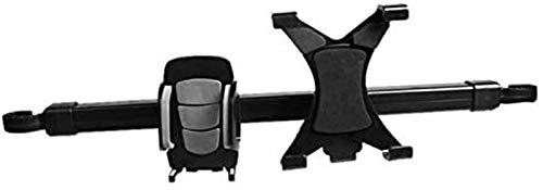 supermalls 2 in 1 Universal Car Tablet PC Phone Holder Rack 360 Gradi del Sedile Posteriore poggiatesta del Basamento del Supporto del Telefono della Staffa for Il Mobile