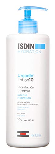 ISDIN Ureadin Lotion 10, Loción Corporal de Hidratación Intensa para Pieles Secas 10% Urea, 400ml