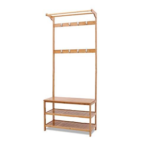 JF-XUAN Escudo simple moderna del estante perchero de pie Inicio Moda dormitorio de zapatos Sala de estar la puerta del bastidor de suspensión 170x70x31cm montaje en la pared del estante