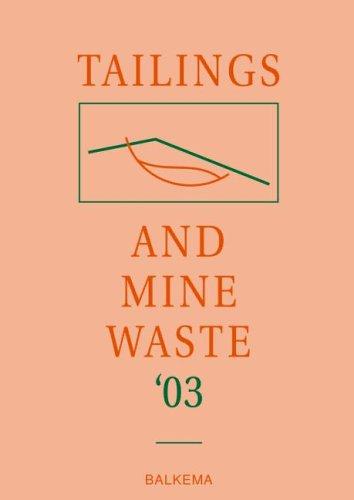 Tailing & Mine Waste 2003